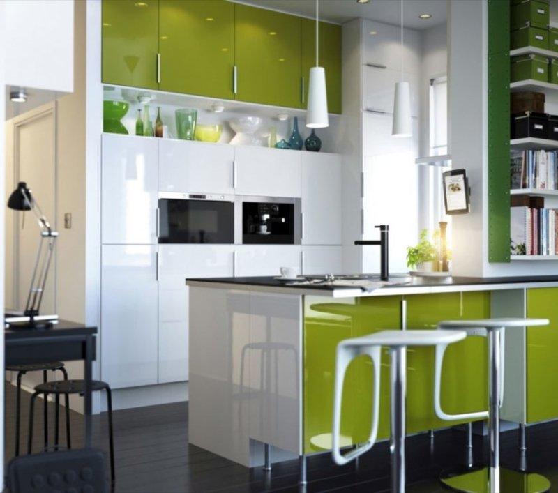idées-de-petite-cuisine-élégantes-avec-évier-d'angle