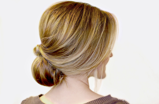 Jolies coiffures de mariage rétro bouffantes