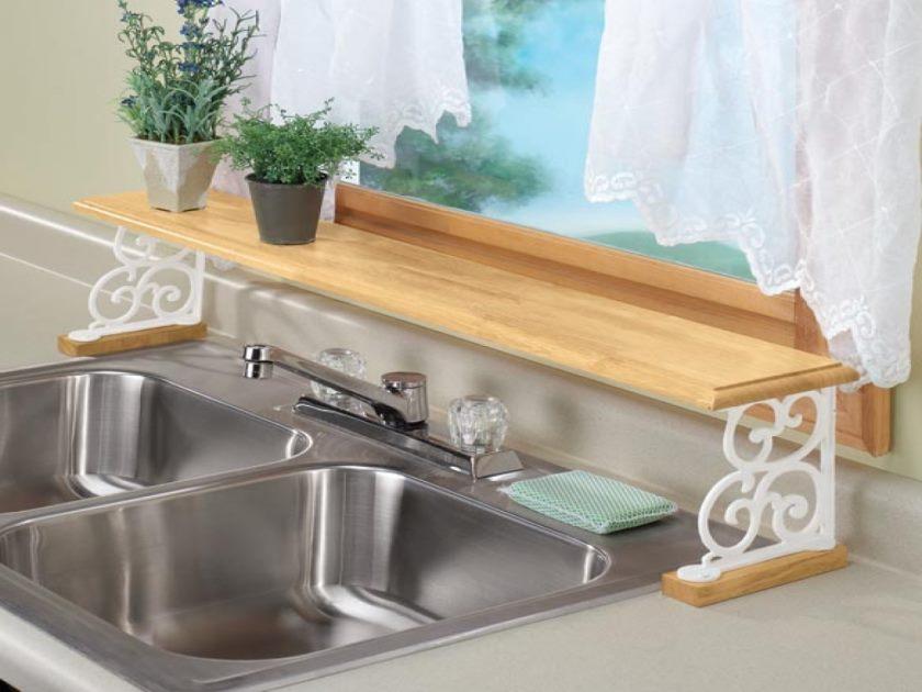 étagères-sur-évier-étagère-réglable-sur-l'évier