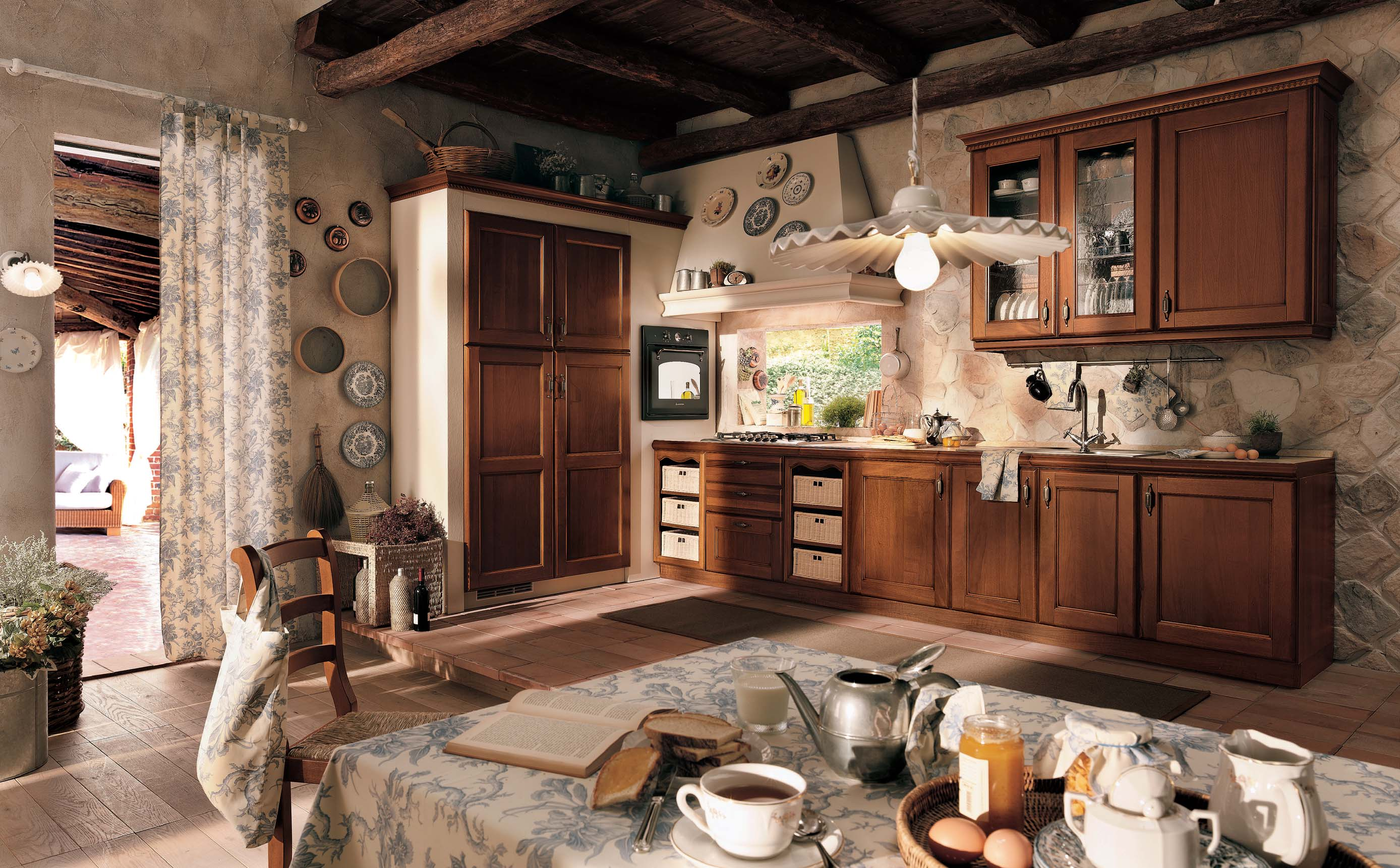 horrible l'intérieur de la cuisine classique