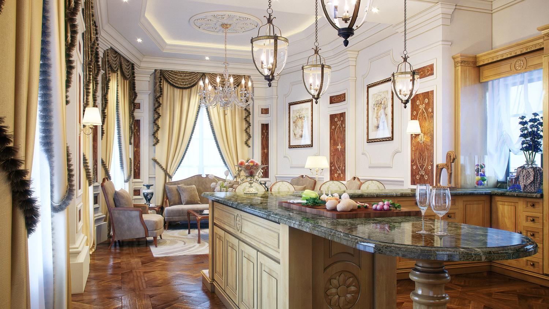cuisine-classique-de-luxe