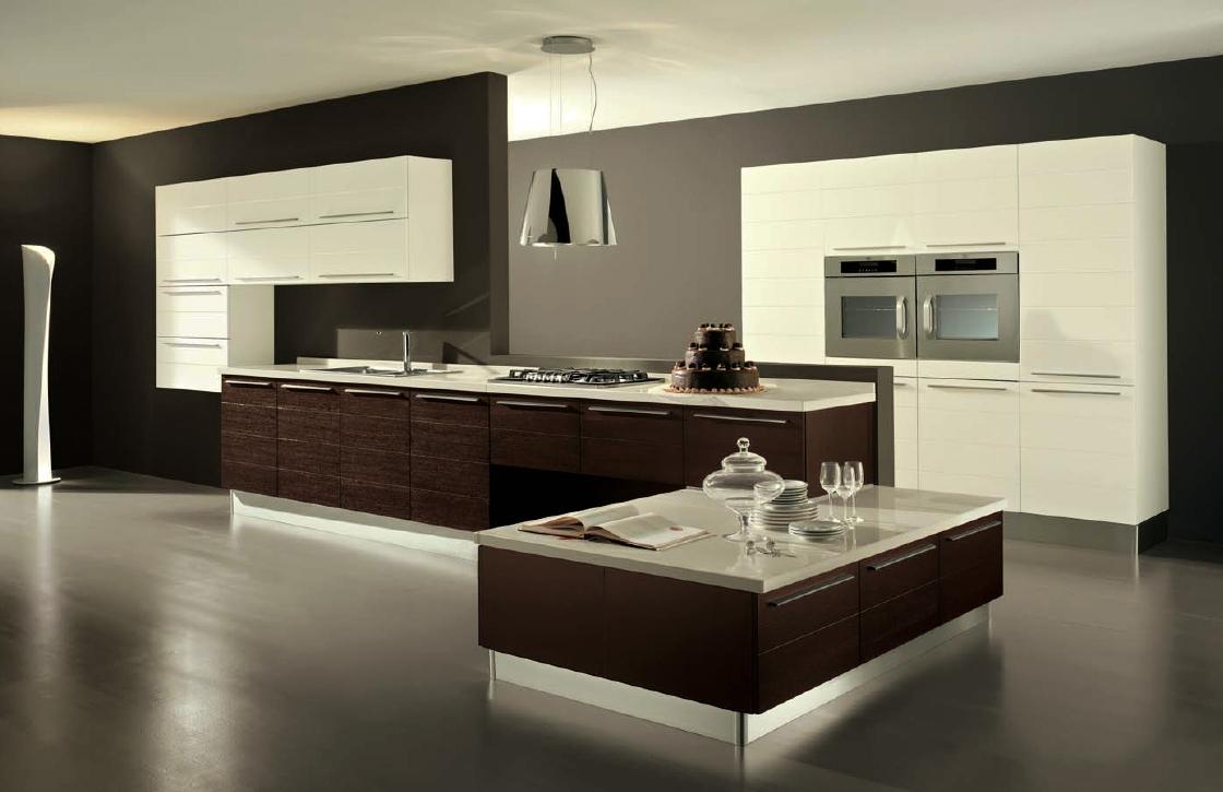cool-contemporain-cuisine-design-visualisé-avec-moderne-deux-tons-meubles-couleurs-et-lampe-en-acier-inoxydable