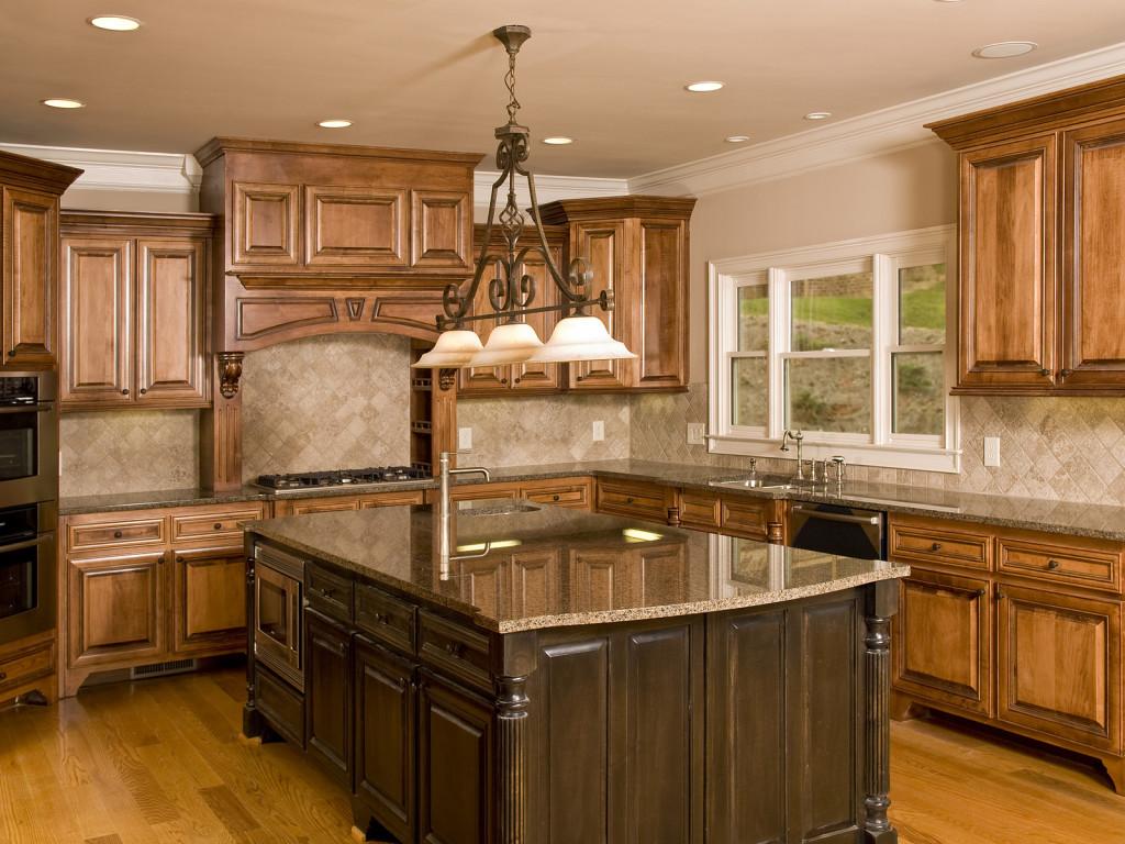 prépossessing-îlot-de-cuisine-avec-dessus-de-granit-élégant-dans-les-tons-brun-et-construction-de-base-en-bois-de-chêne-avec-des-détails-de-sculpture-ainsi que-de-grandes-idées-d'armoires-en-bois- granit-top-cuisine-îlot-cuisine-get-the-p