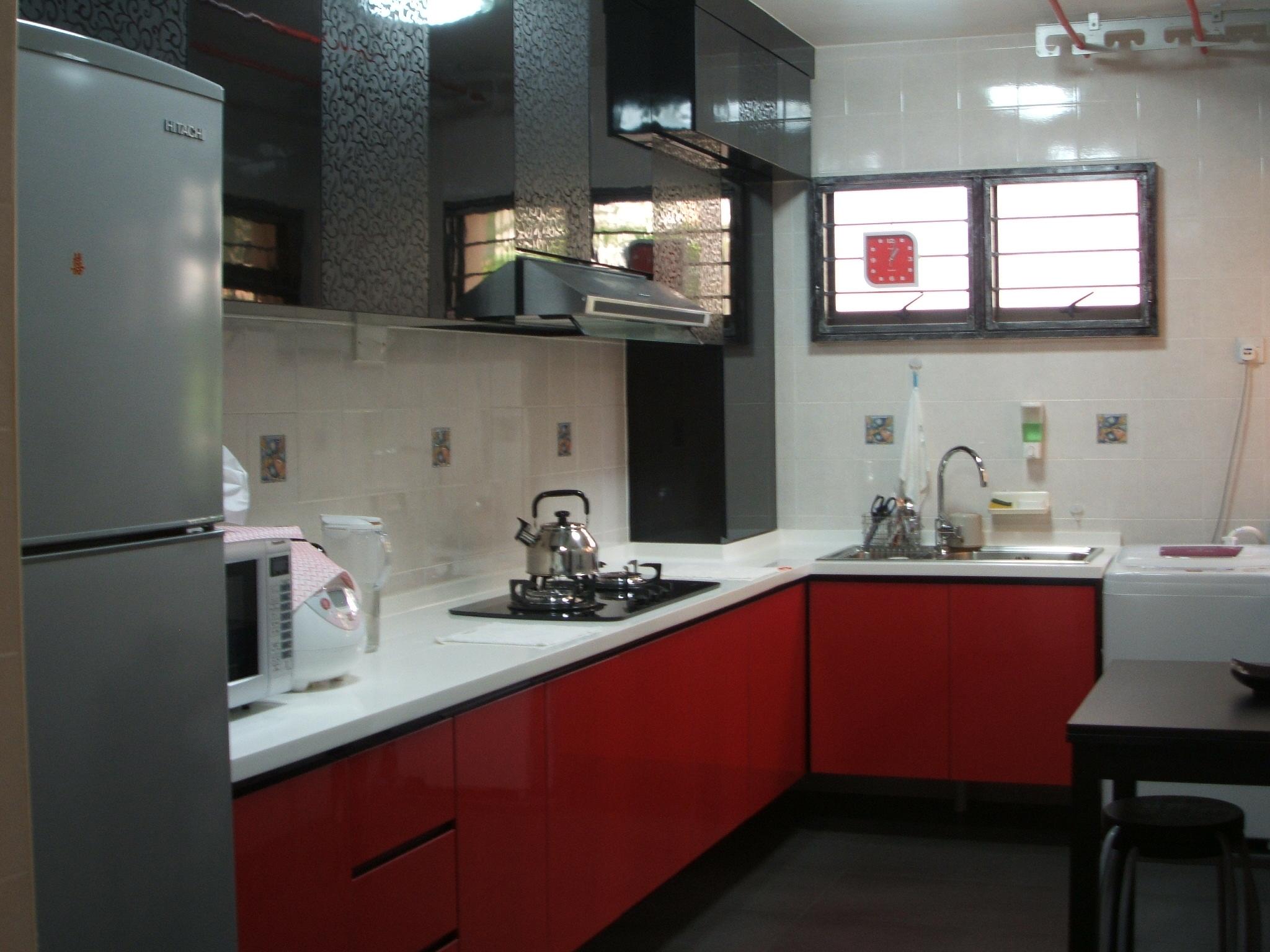 idées-nouveaux-meubles-de-cuisine-rouges-pour-la-décoration-de-la-maison