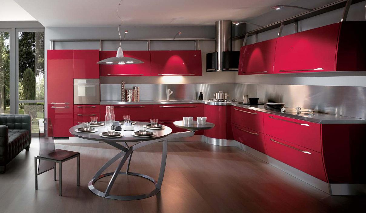 idées-de-cuisine-rouge-15