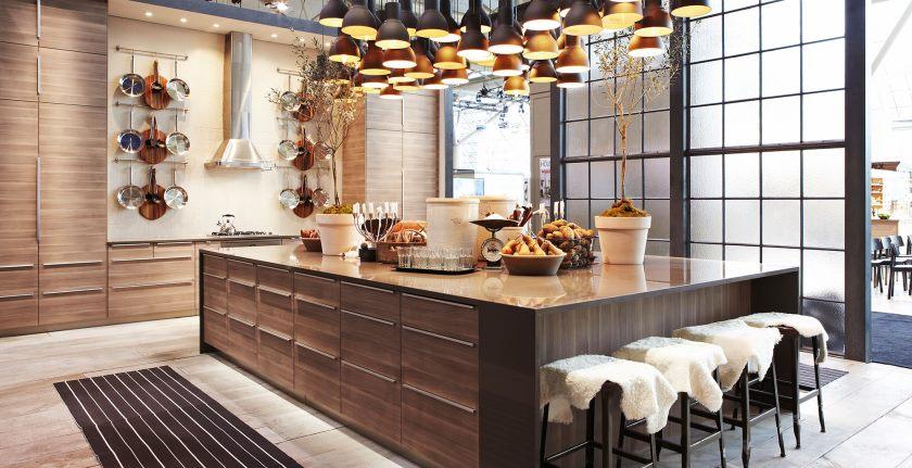 Cette cuisine comprend IKEA