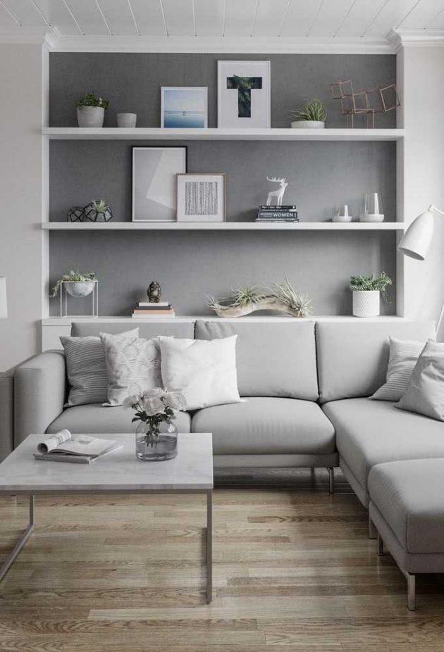 Les modèles les plus étonnants de petits canapés de salon