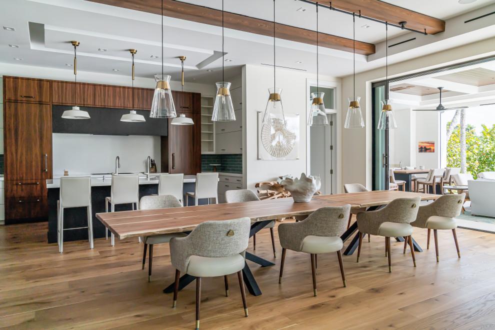 18 splendides conceptions de salles à manger côtières que vous allez admirer