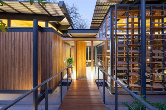 Jungle Frame House par Studio Saxe à Nosara, Costa Rica