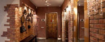 Amenagement interieur de couloir en brique idees stylees et conseils