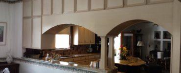 Arche dans la cuisine au lieu dune porte varietes et