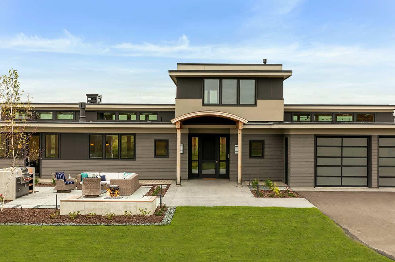 extérieur-maison-rustique-moderne
