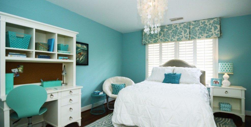 Chambre turquoise idees de design dinterieur modernes et variations de