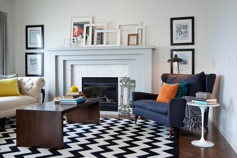 New-Vintage-by-Natalie-Fuglestveit-Interior-Design Comment décorer un manteau de cheminée (idées de décoration soignées)