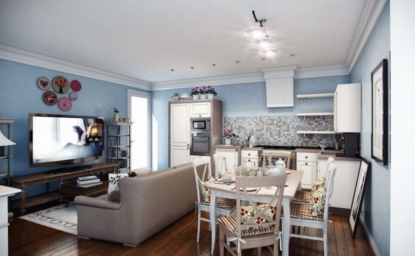 Cuisine sejour 20 21 m2 design agencement photos idees
