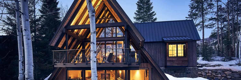a-frame-cabin-exterior