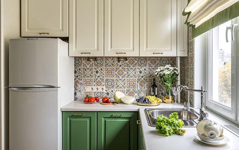 idees pour la cuisine amenagement avec refrigerateur couleurs styles eclairage