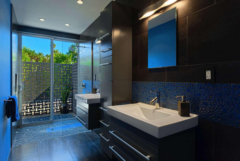 salle de bain principale du milieu du siècle