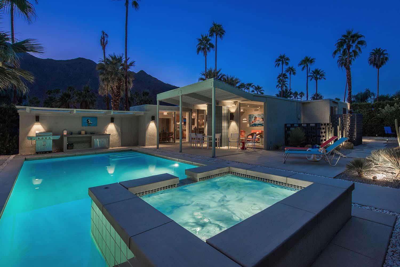 nuit-piscine-milieu du siècle