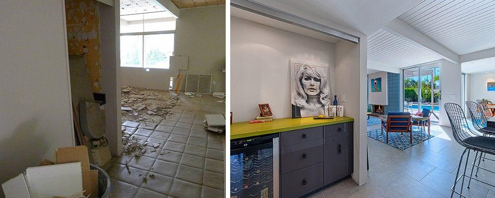 entrée-maison-moderne-milieu-du-siècle-avant-après