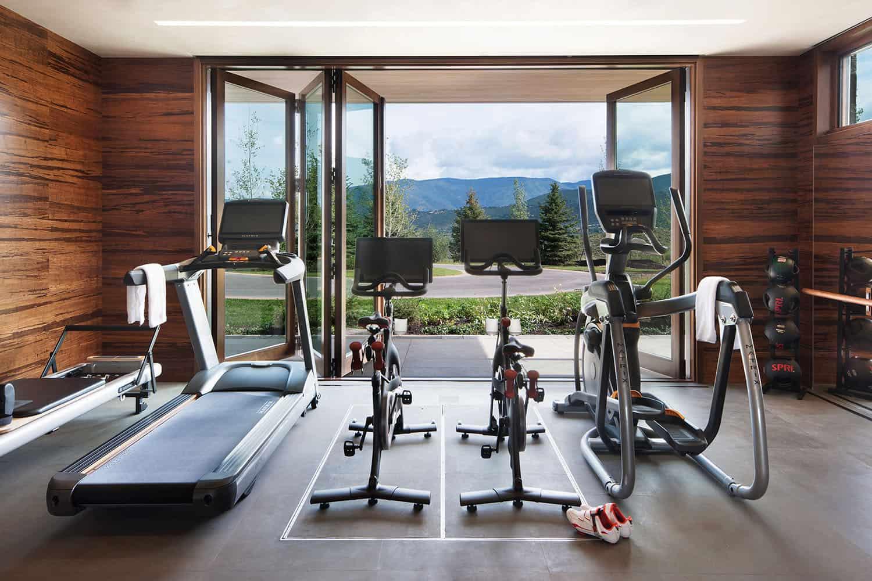 montagne-contemporaine-maison-gym