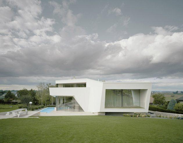 Villa Freundorf par A01 Architects à Judenau, Autriche