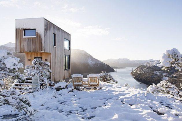 La cabane qui offre une vue incroyable sur la nature