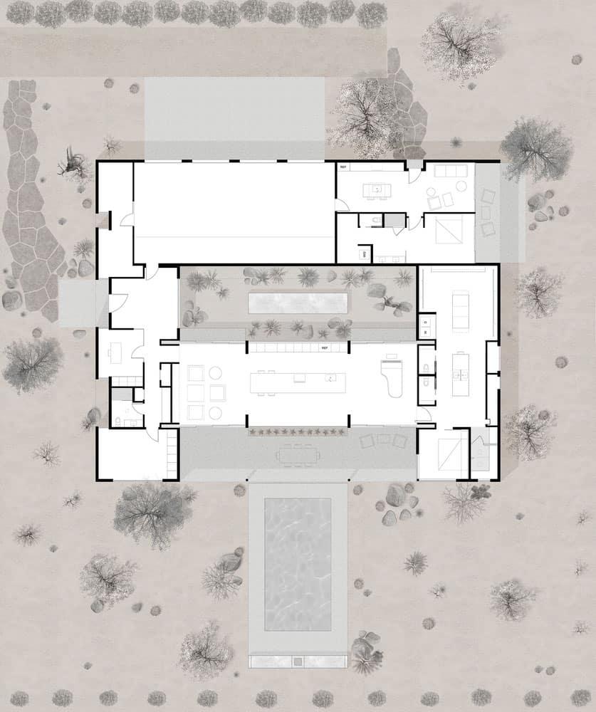 plan-maison-du-desert-moderne