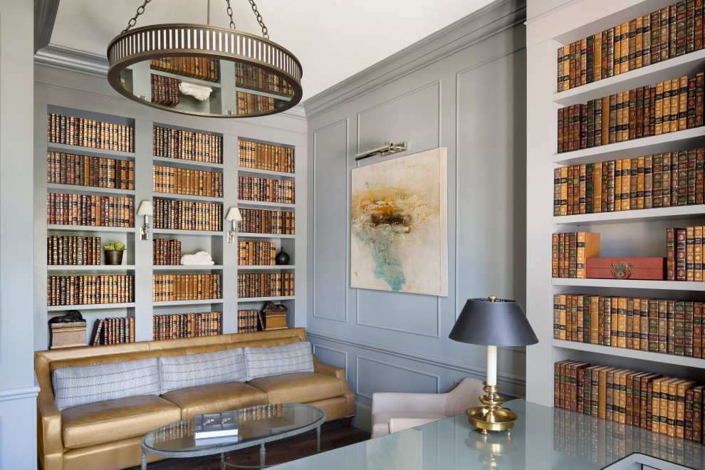 18 conceptions opulentes de bureaux à domicile côtiers pour travailler avec style