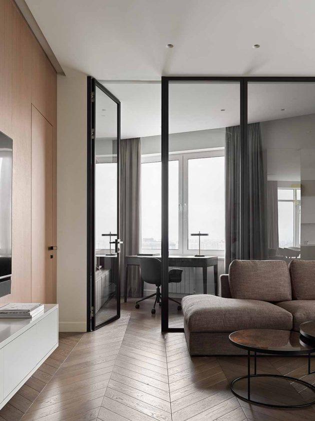 Appartement esthétique avec des touches minimalistes et naturelles