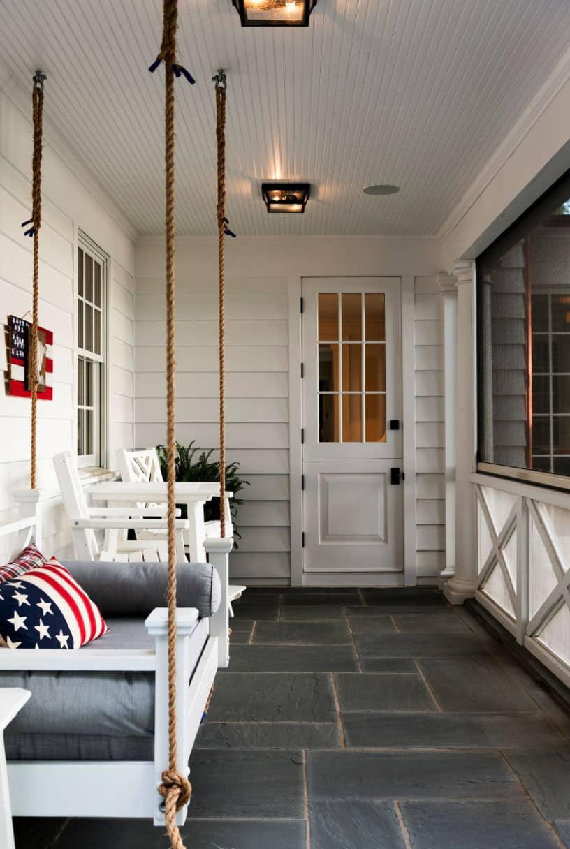 porche-maison-de-style colonial