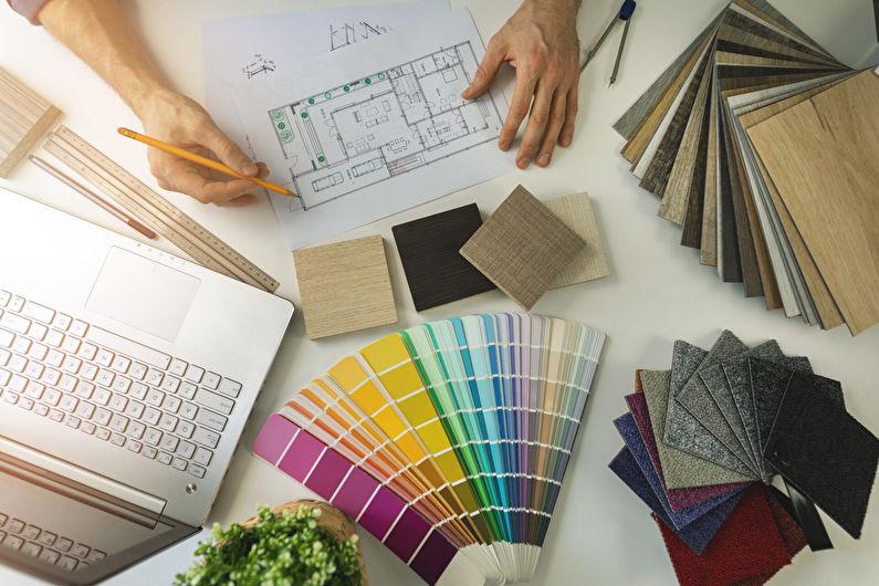 Comment créer vous-même un projet de conception: instructions étape par étape pour les débutants