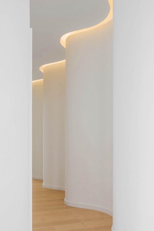 Les courbes du corps humain comme inspiration en architecture - Projet BELIFE de Romulo Neto