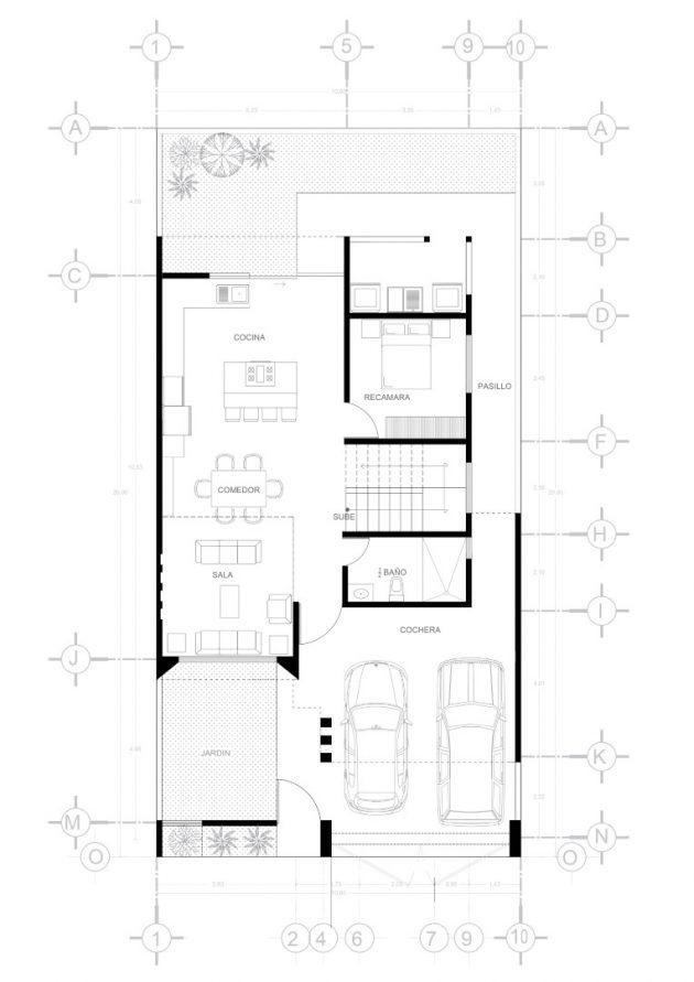 Résidence PYO par Dehonor Arquitectos à Morelia, Mexique