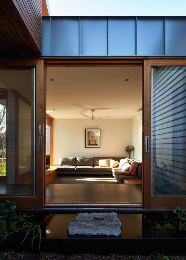 Yarraville Garden House par Guild Architects à Melbourne, Australie