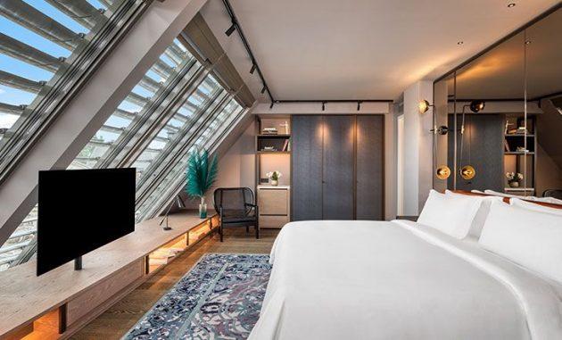 Une rénovation d'hôtel - Hommage au luxueux design traditionnel de Budapest