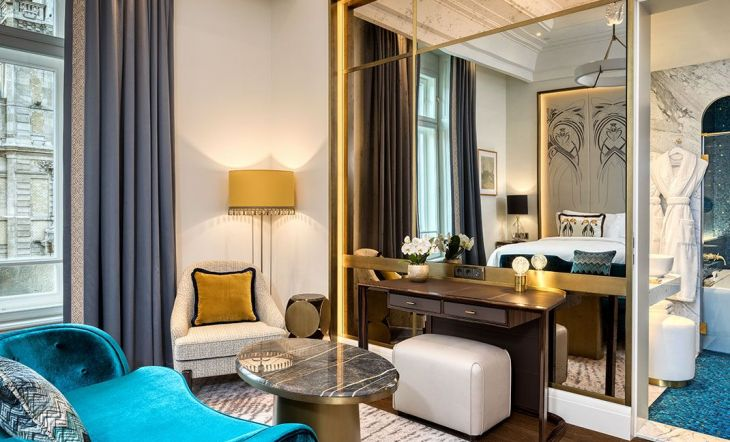 A Hotel Renovation - Homage To Luxurious Traditional Budapest Design