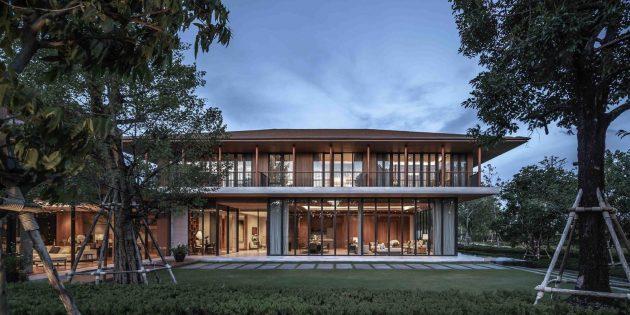 Résidences Santiburi par Architects 49 à Bangkok, Thaïlande