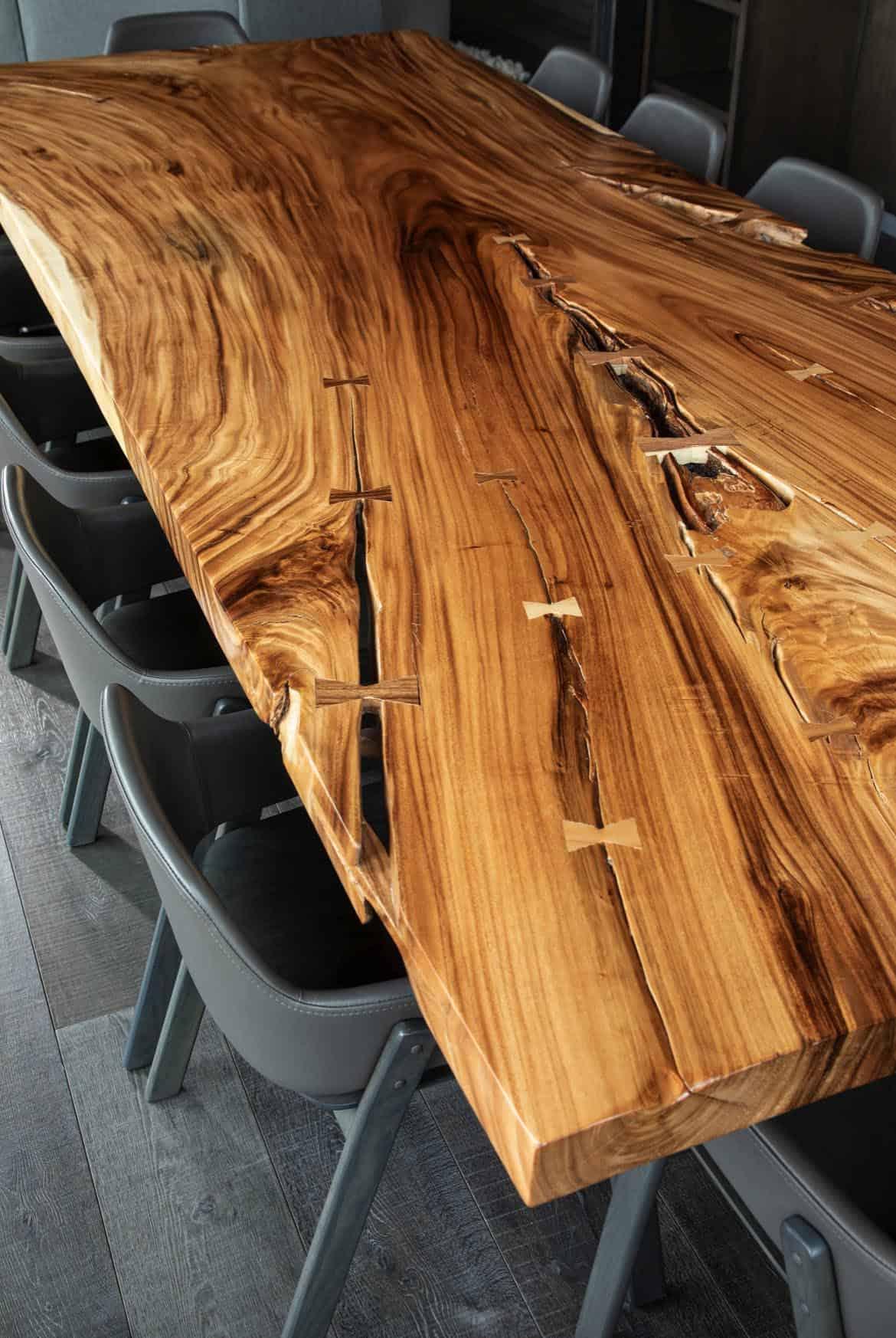 moderne-montagne-salle-à-manger-table-detail
