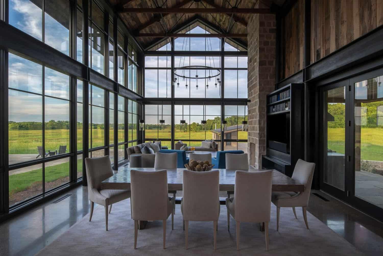 salle-a-manger-moderne-rustique