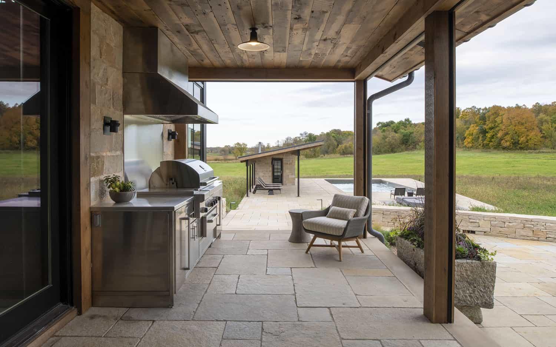 cuisine-moderne-rustique-couverte-patio