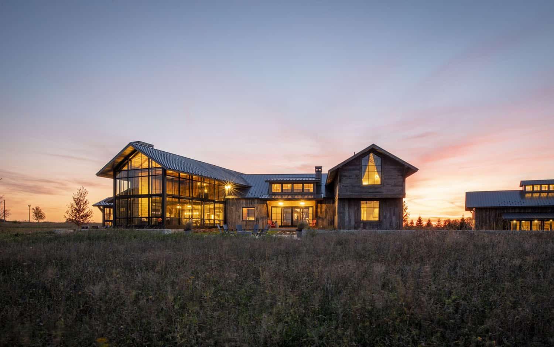 extérieur-maison-moderne-rustique