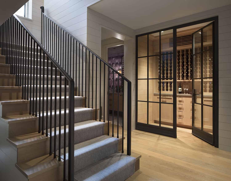 escalier-style-transitionnel-cave-à-vin