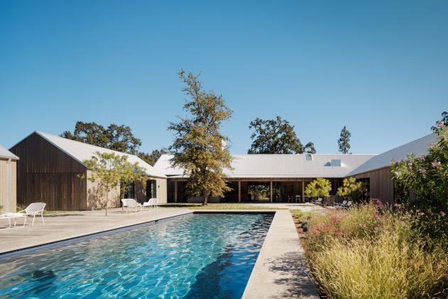 Zinfandel par Field Architecture à Sainte-Hélène, Californie