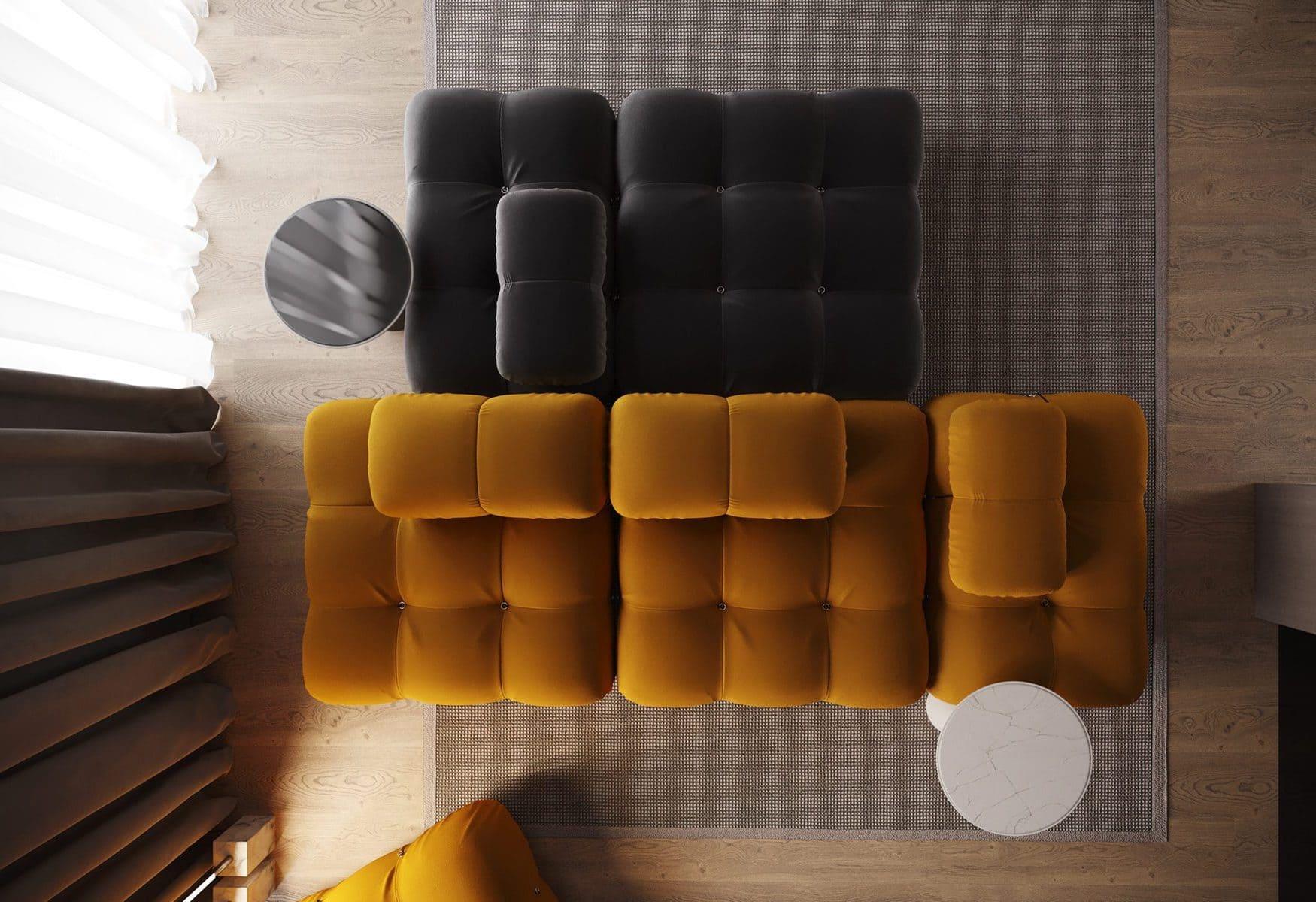 design d'intérieur d'un appartement à la mode photo 3