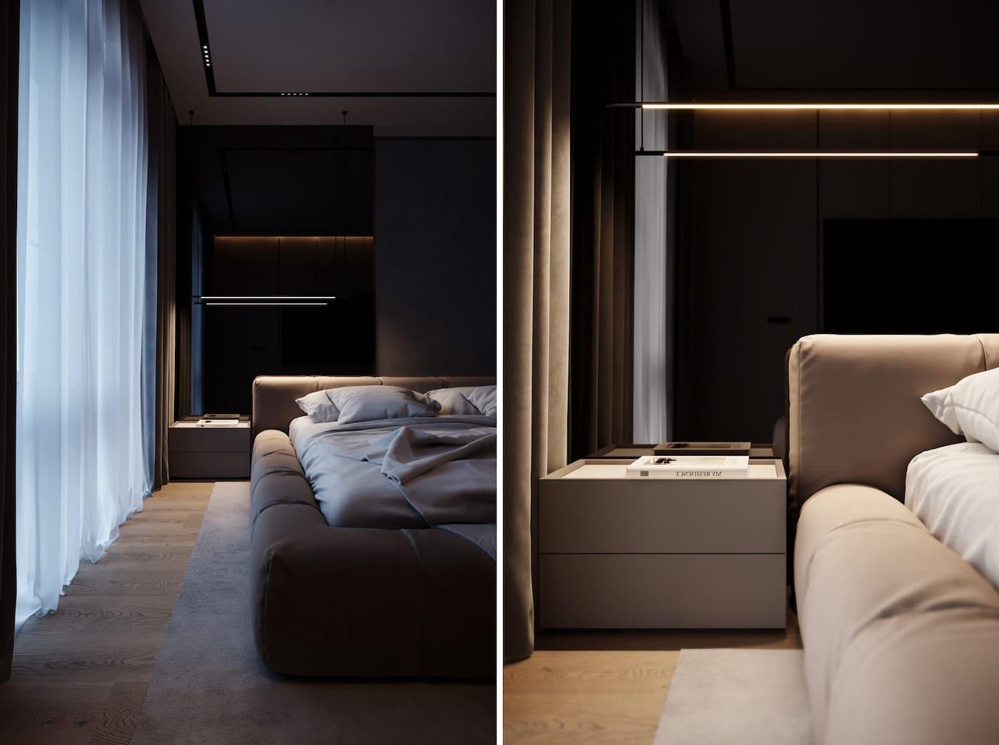 design d'intérieur d'un appartement à la mode photo 7