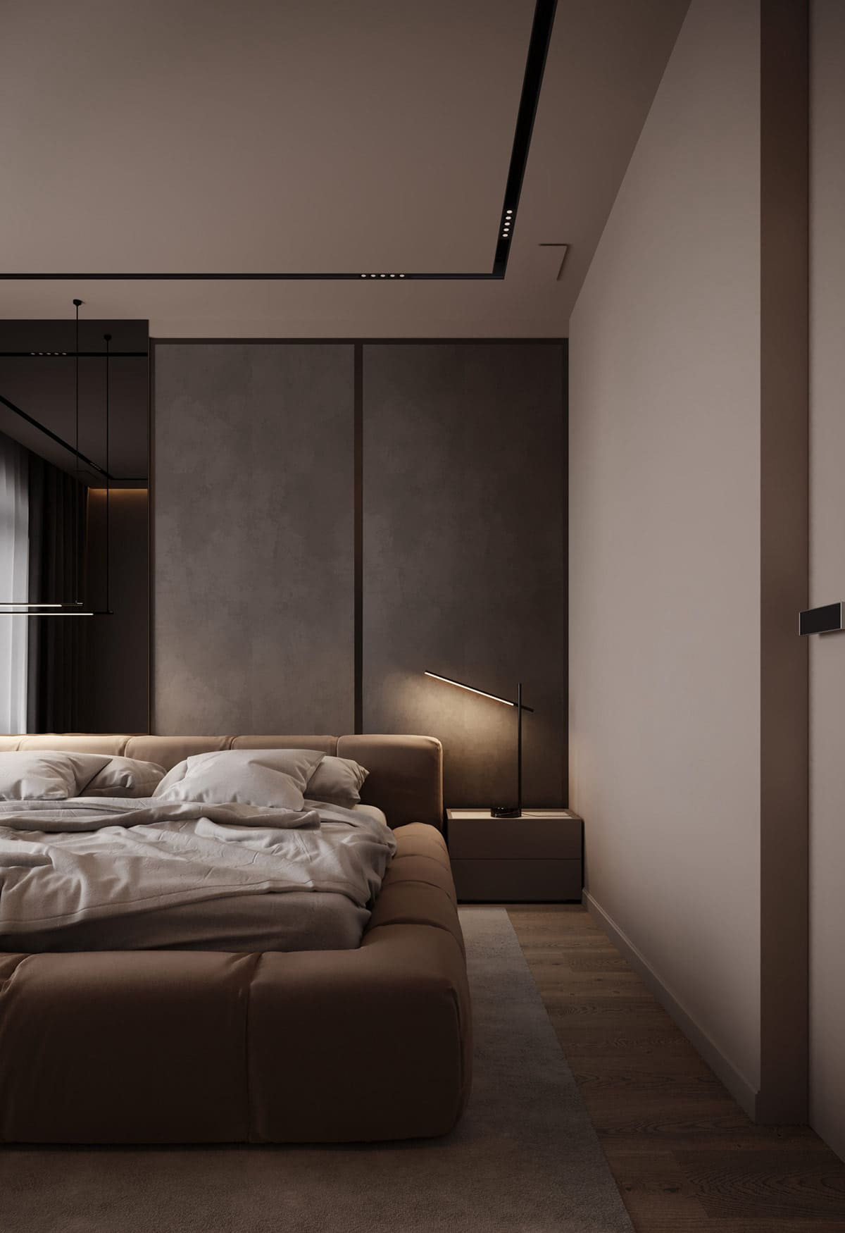 design d'intérieur d'un appartement à la mode photo 6