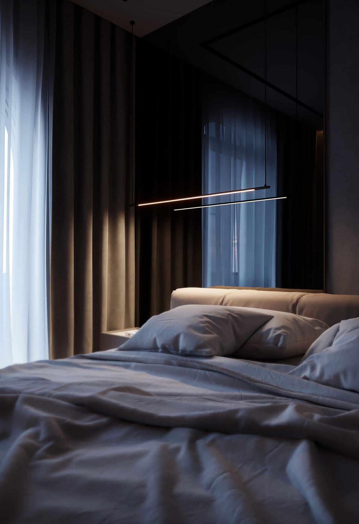 design d'intérieur d'un appartement à la mode photo 8