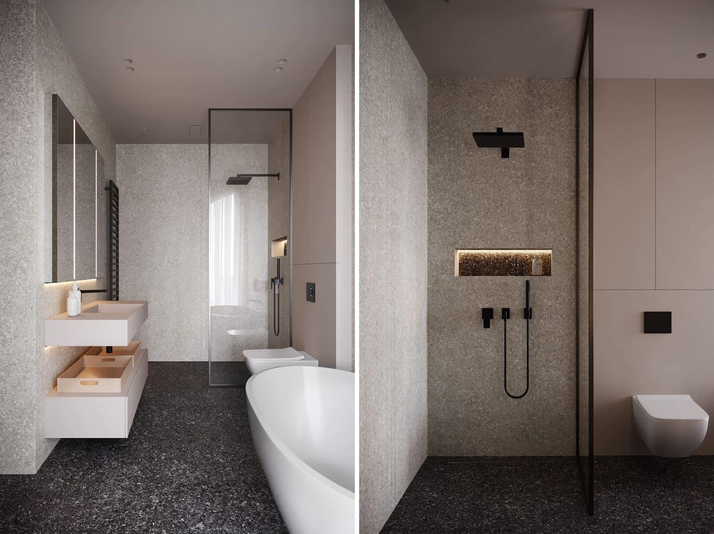 design d'intérieur d'un appartement à la mode photo 10