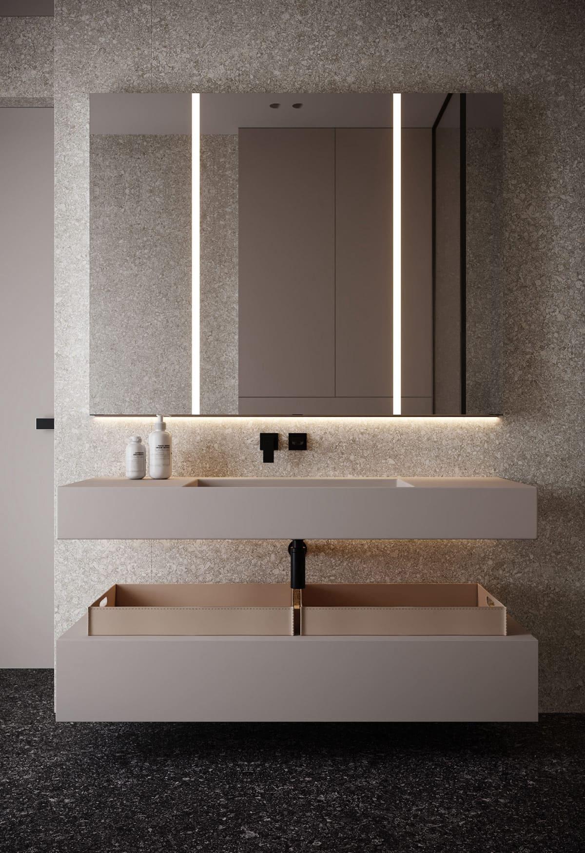 design d'intérieur d'un appartement à la mode photo 9